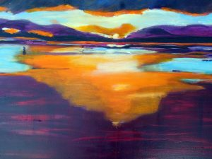 Sonnenuntergang, 60 x 80 cm, 509,00 €
